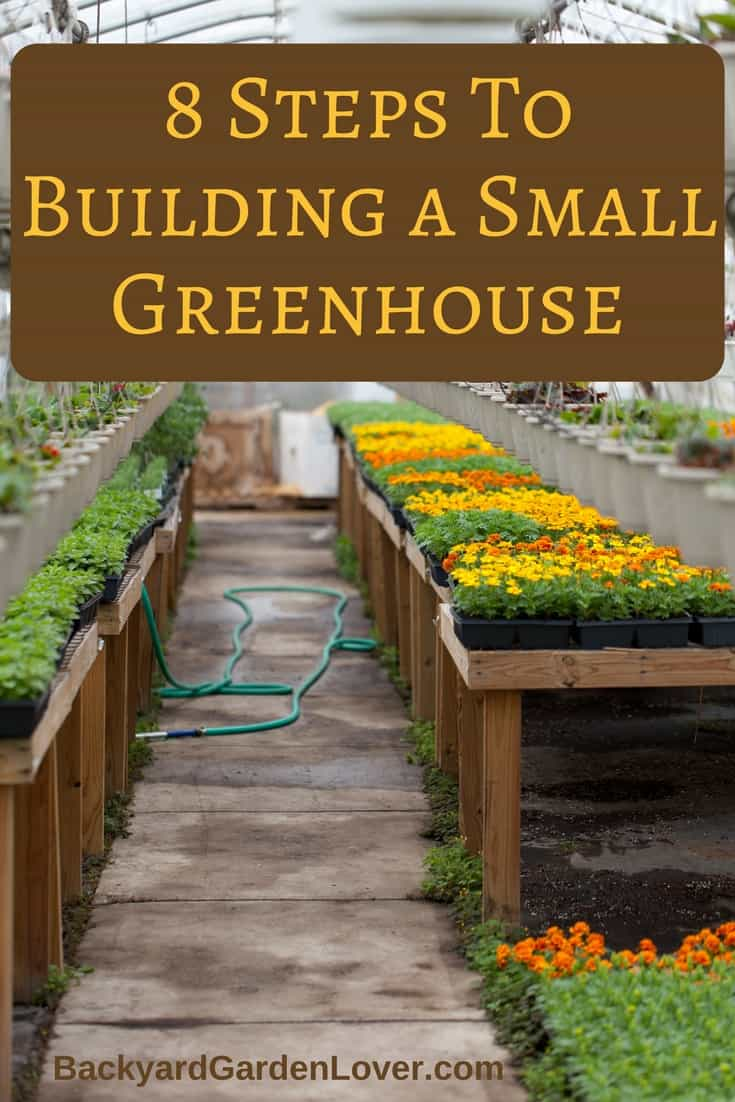 How to build a small greenhouse in 8 easy steps for How to make house green