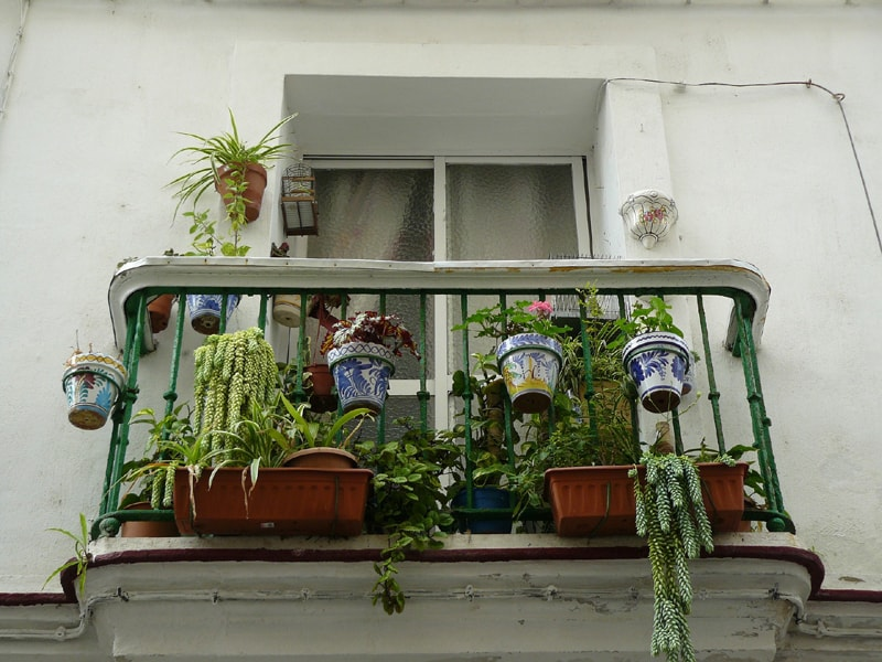 balcony exterior decoration