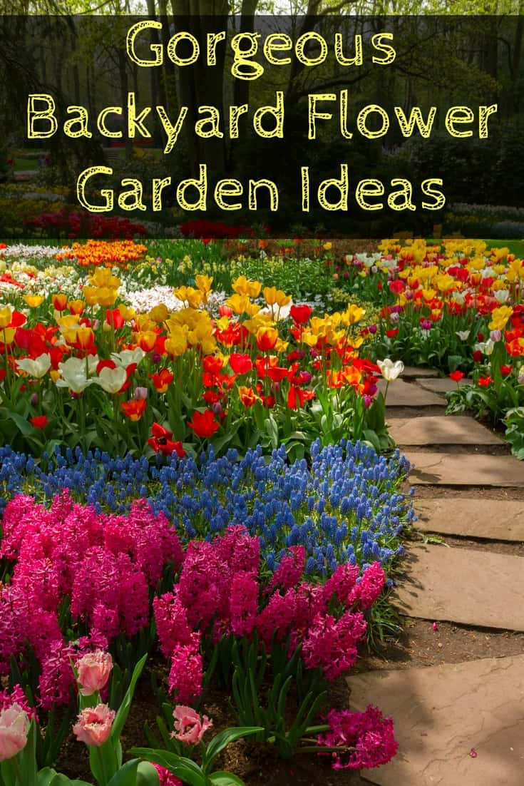 Marvelous Do You Ever See Gorgeous Backyard Flower Gardens You Wish You Could Have In  Your Own Awesome Ideas