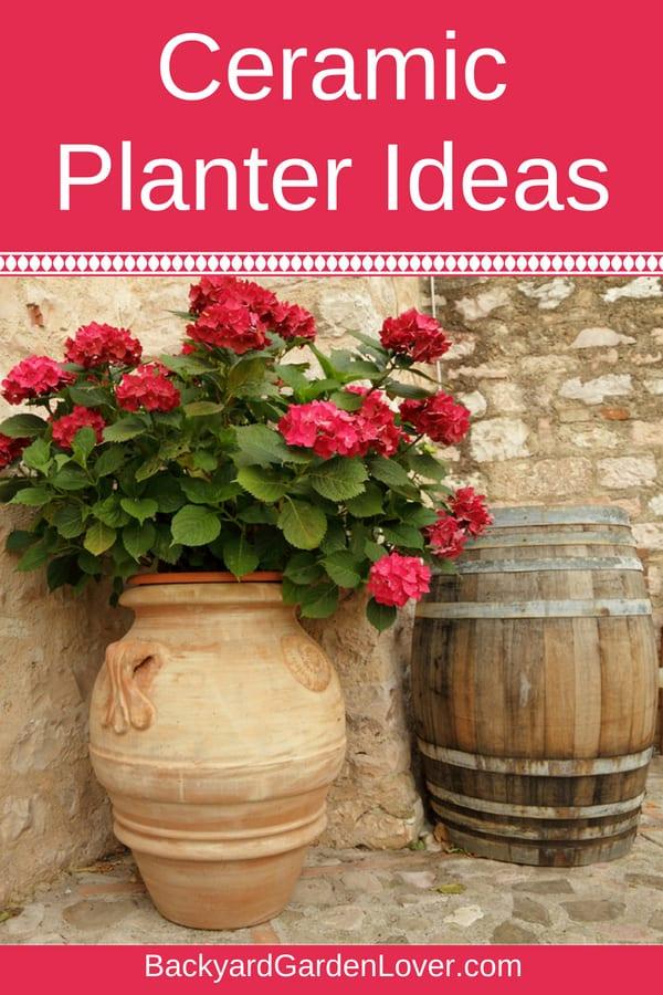 Ceramic planter ideas