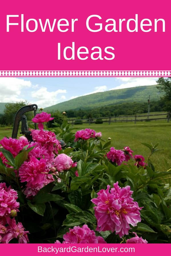 Here Are Some Easy Tips And Ideas For Creating Beautiful Backyard Flower  Gardens That Are Simple