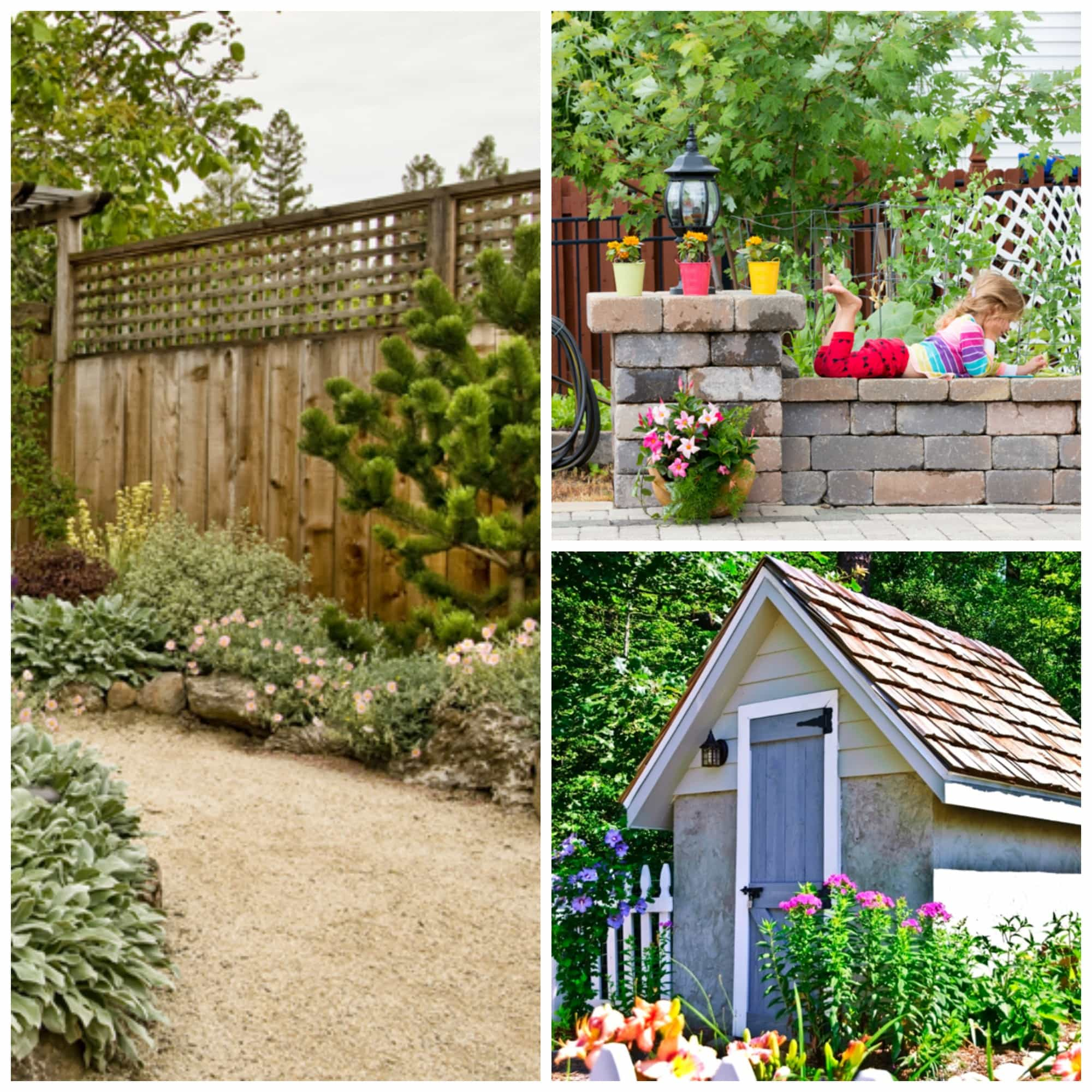 Small garden design ideas for Small back yard designs