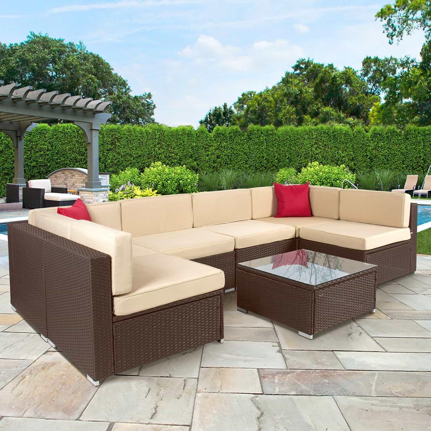 Low maintenance landscaping ideas for Low maintenance outdoor furniture