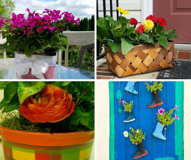 Creative Flower Pot Ideas