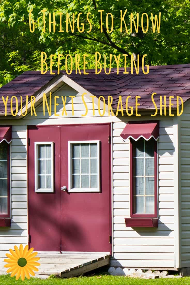 Is it time to replace your old shed? Here's a storage shed buying guide to make your decisions easier.