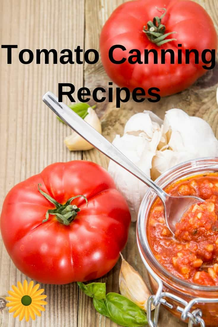 Can't keep up with your garden's production of tomatoes? Here several easy tomato canning recipes. Use them to enjoy fresh form the garden taste all year long!