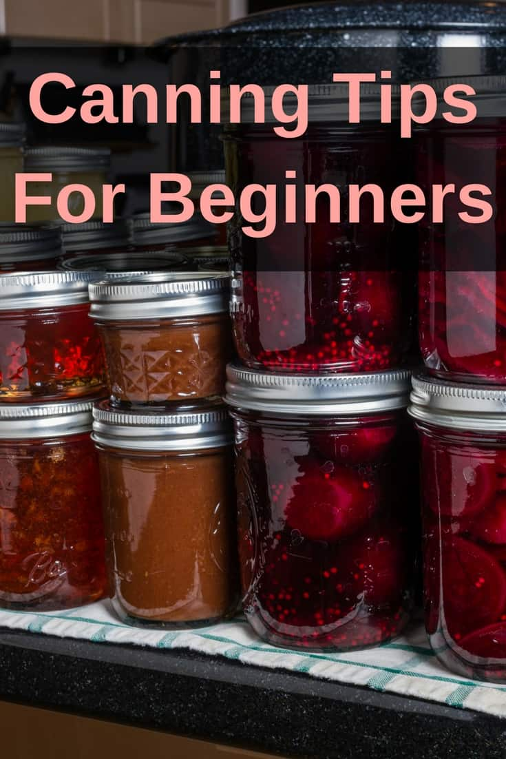 Are you new to canning? It can be scary to get started. Here are my easy canning tips for beginners