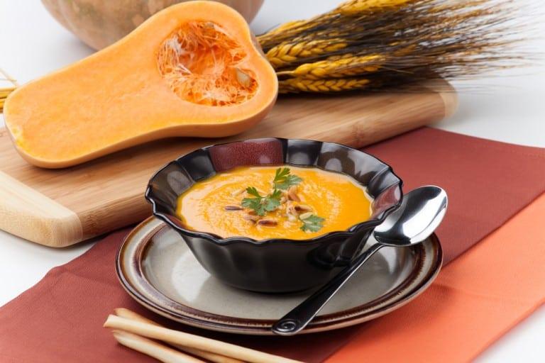 Butternut Squash & Leek Soup