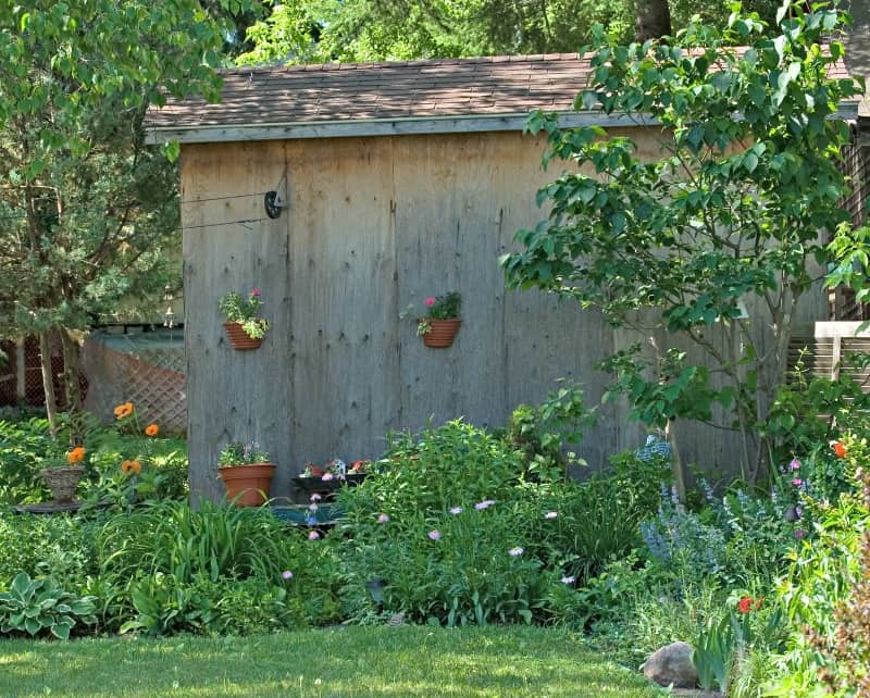 7 ways to use your shed for more than storage for Buy potting shed