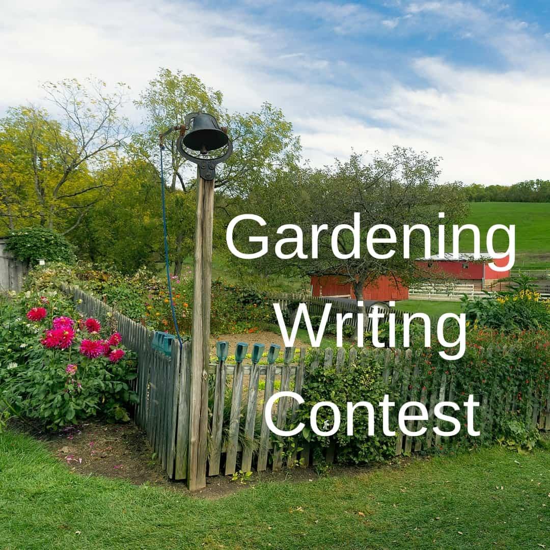 Gardening Writing Contest