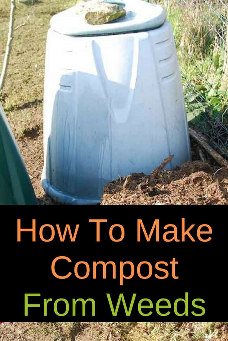 Did you know you CAN make compost from weeds? Learn a few simple basics and you can turn all your weeds into dark, nutrient-rich compost for your garden