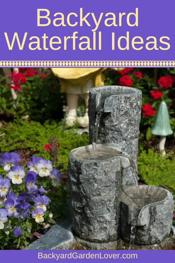 Wondering if you should get a water feature in your backyard? Here's a collection of beautiful outdoor fountains, surrounded by beautiful plants, stones, and other garden decor. Learn how to build your own DIY water fountain, or buy an already made front yard water wall or an awesome rock waterfall. Lots of ideas!