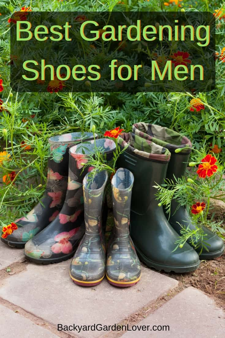10 best gardening shoes for men backyard garden lover