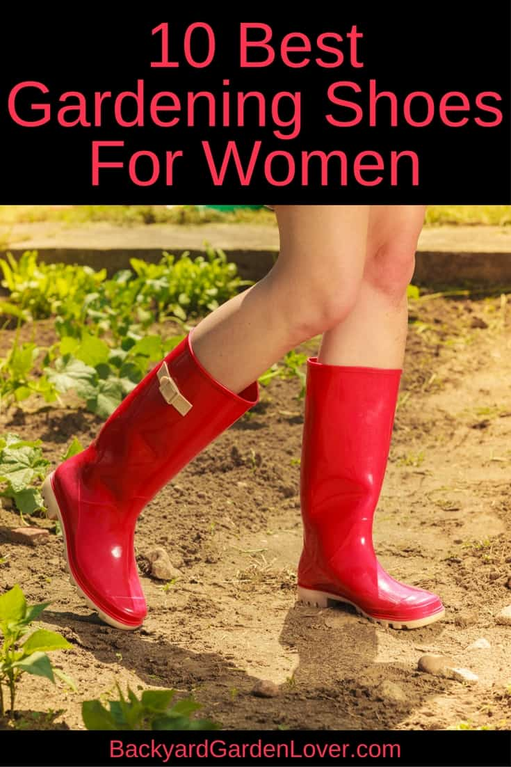 Your feet deserve the best! Here are the top 10 best gardening shoes and boots for women.