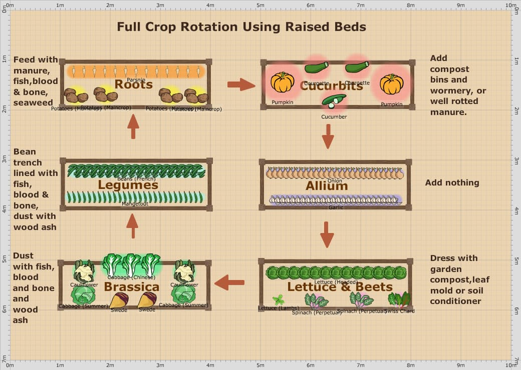 Raised Vegetable Garden Plans – Planning A Raised Bed Vegetable Garden