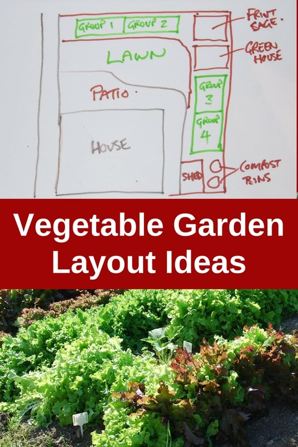 Vegetable garden layout ideas for Vegetable plot ideas