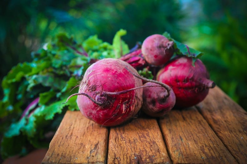 Fresh beetroot. These beets look sooo good!
