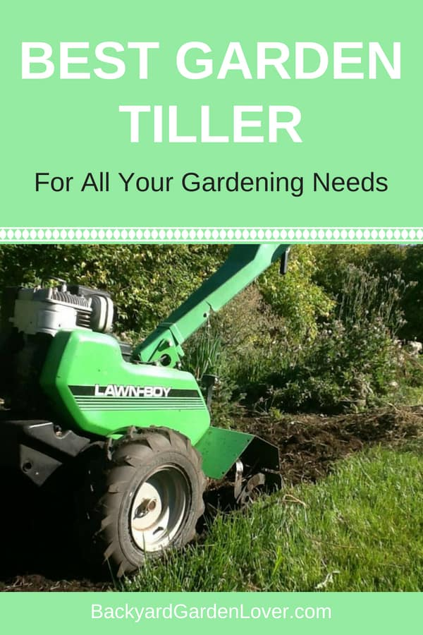 Looking for the best garden tiller? Having the right rototiller for your soil will make your life so much easier! Tillers are perfect for spring and fall garden preparations, and a tool you need in your tool shed. #tiller #gardentiller #rototiller #gardening #organic #gardeningtips