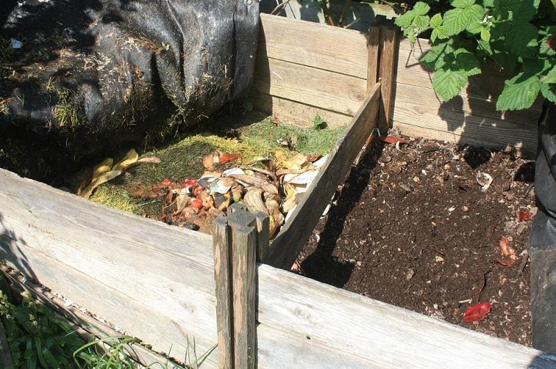 Hot composting system