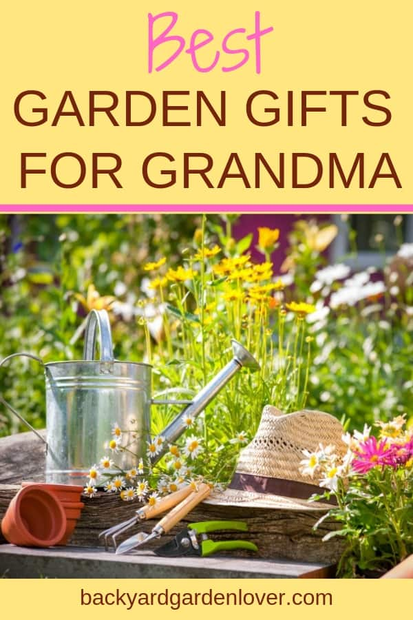 Grandmas are special :). Give your gardener grandmother a gift she'll enjoy and remember for a long time. Here's a list of the best gardening gifts for grandma. #gifts #gardenergifts #giftsforgrandma #gardengifts #christmasgifts #christmasgiftsforgrandma #gardenlovergifts #grandmagifts #bgl