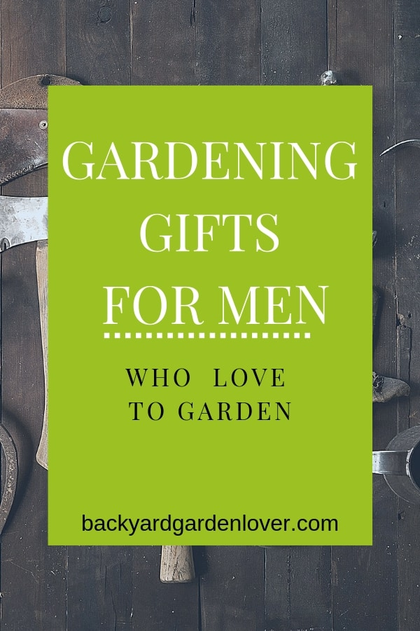 Getting a gardening gift for a man doesn't have to be complicated. Here are some really cool and unique ideas for guy garden gifts: perfect for Christmas, Father's day and birthday. With 25 gifts on this list, one is sure to be perfect for your man. #gifts #gardengifts #mangifts #giftsformen #christmasgifts #fathersdaygifts #bgl #garden #gardener