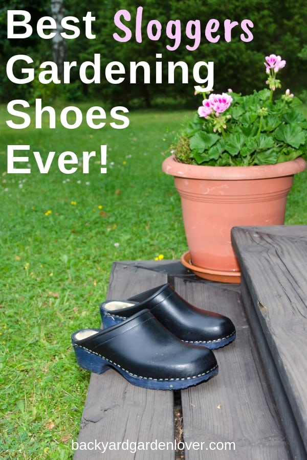 If you ever wondered how to keep your feet safe and dry in your gardening shoes, you need to take a look at these Sloggers gardening shoes. They are made in USA, and come in many different colors: red, black, blue green, and lots of pretty patterns. Sloggers make boots, clogs, and shoes for both men and women. You'l LOVE workign in the garden rain or shine ;) #sloggers #gardenshoes #gardening #sloggersclogs #clogs #gardenaccessories #comfortshoes