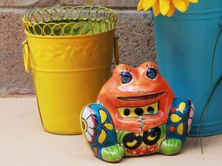 Adorable Talavera Frog Planters You Must See (And Have!)