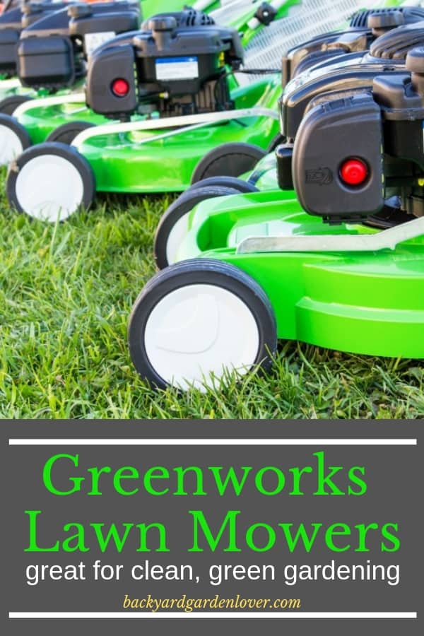 If you're looking for a Greenworks lawn mower, my review will help you find out if it's for you. #greenworks #lawnmowers #lawn #green