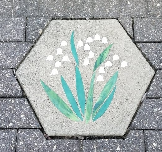 Lily of the Valley stepping stone
