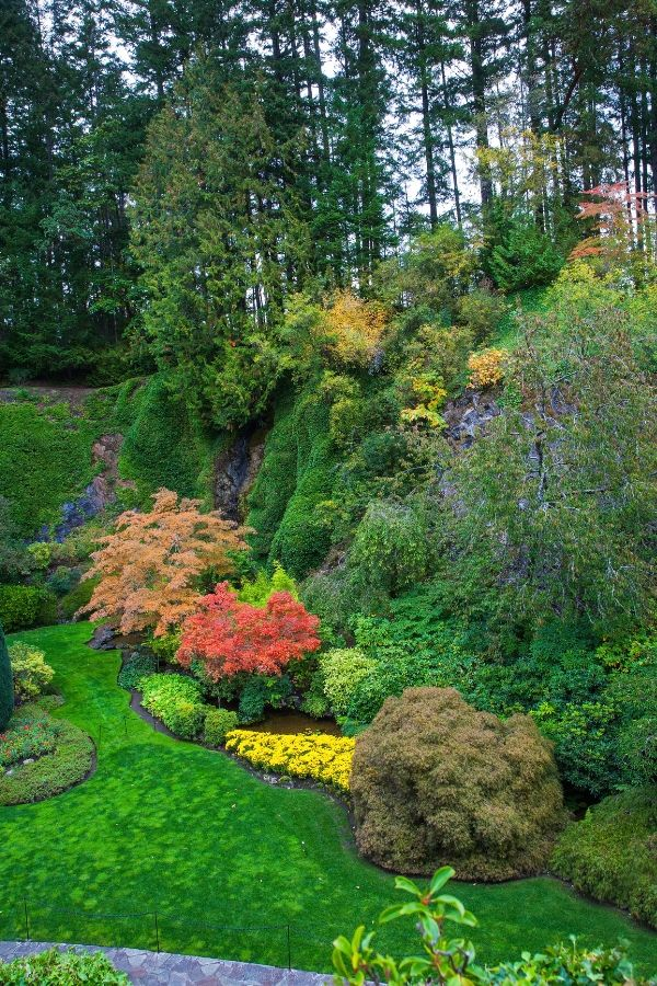 Butchart Gardens in Vancouver