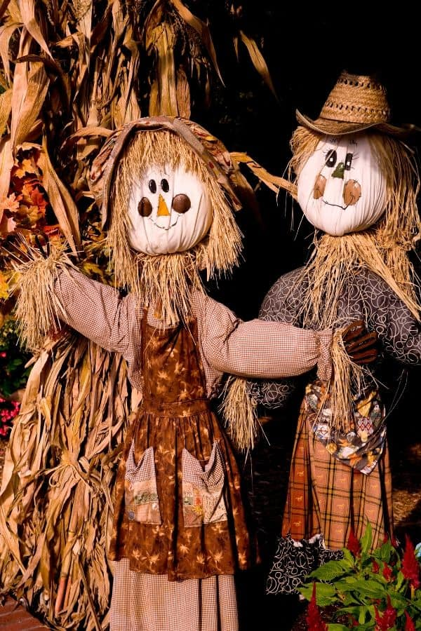 Scarecrows (girl and boy)