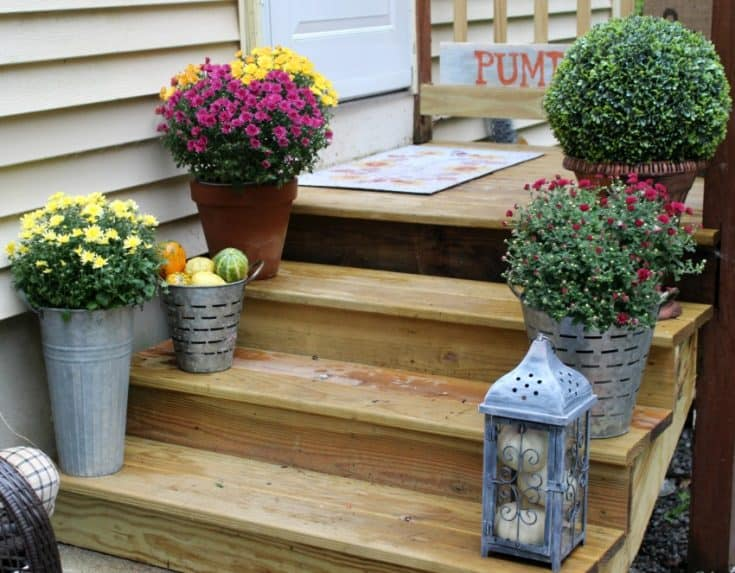 Beautiful Small Porch Decorating Ideas For Fall Our Crafty Mom