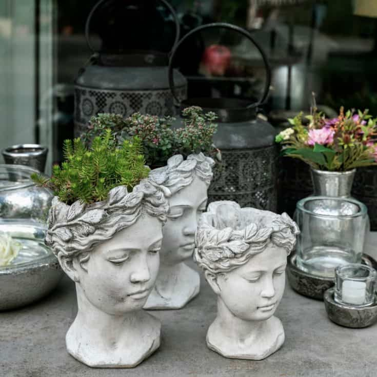Unique Outdoor Head Planters That Add Personality To Your Garden