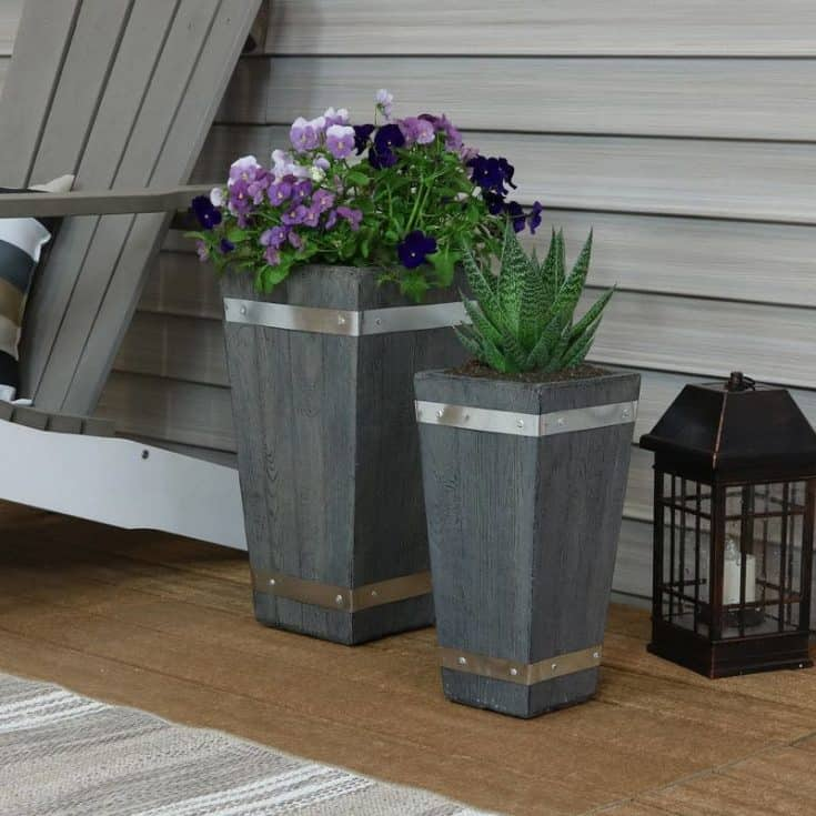 Stylish Tall Planters For Your Home and Garden
