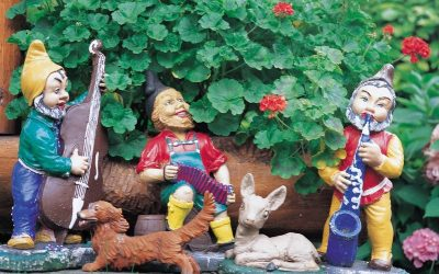 Musical garden gnomes