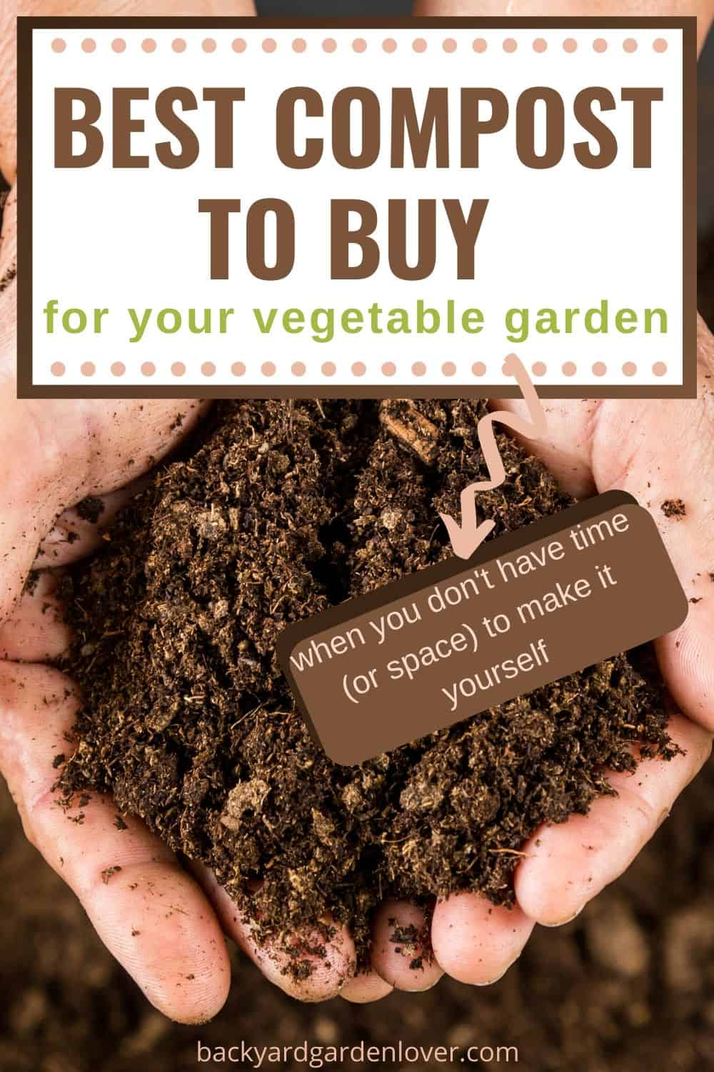 The best compost to buy for vegetable garden