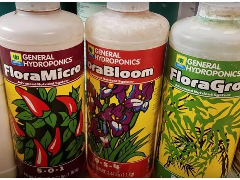 Flora nutrient solution