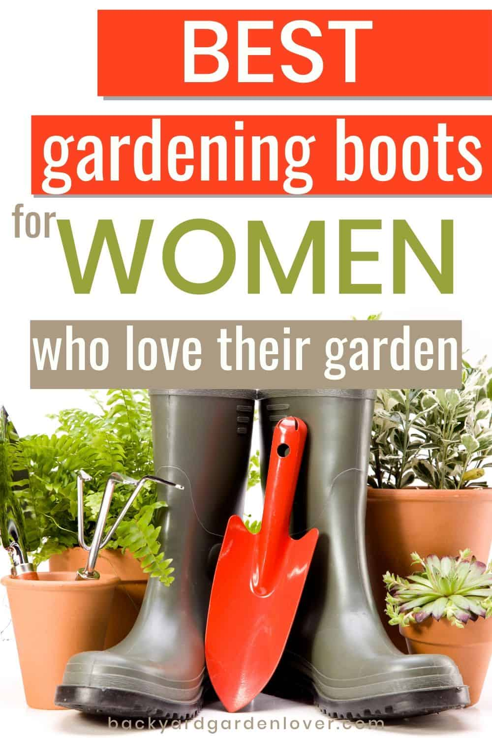 Best gardening muck boots for women who love their garden