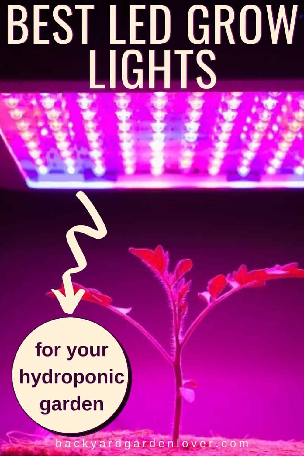 Best LED grow lights for your hydroponic garden