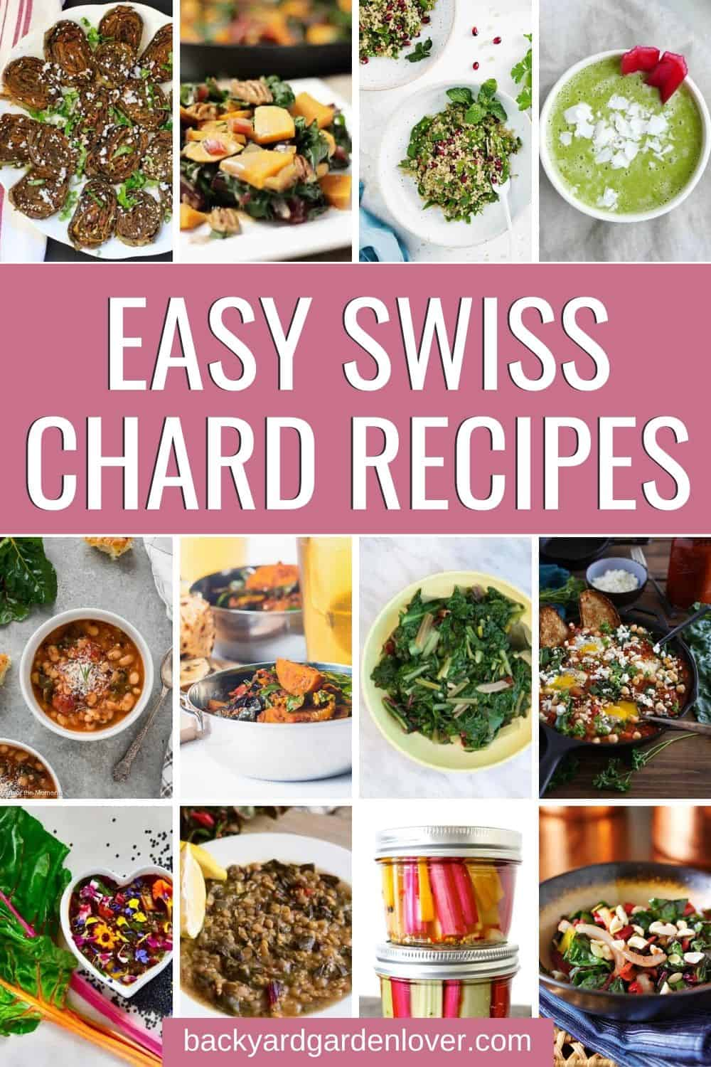 Images of easy swiss chard recipes