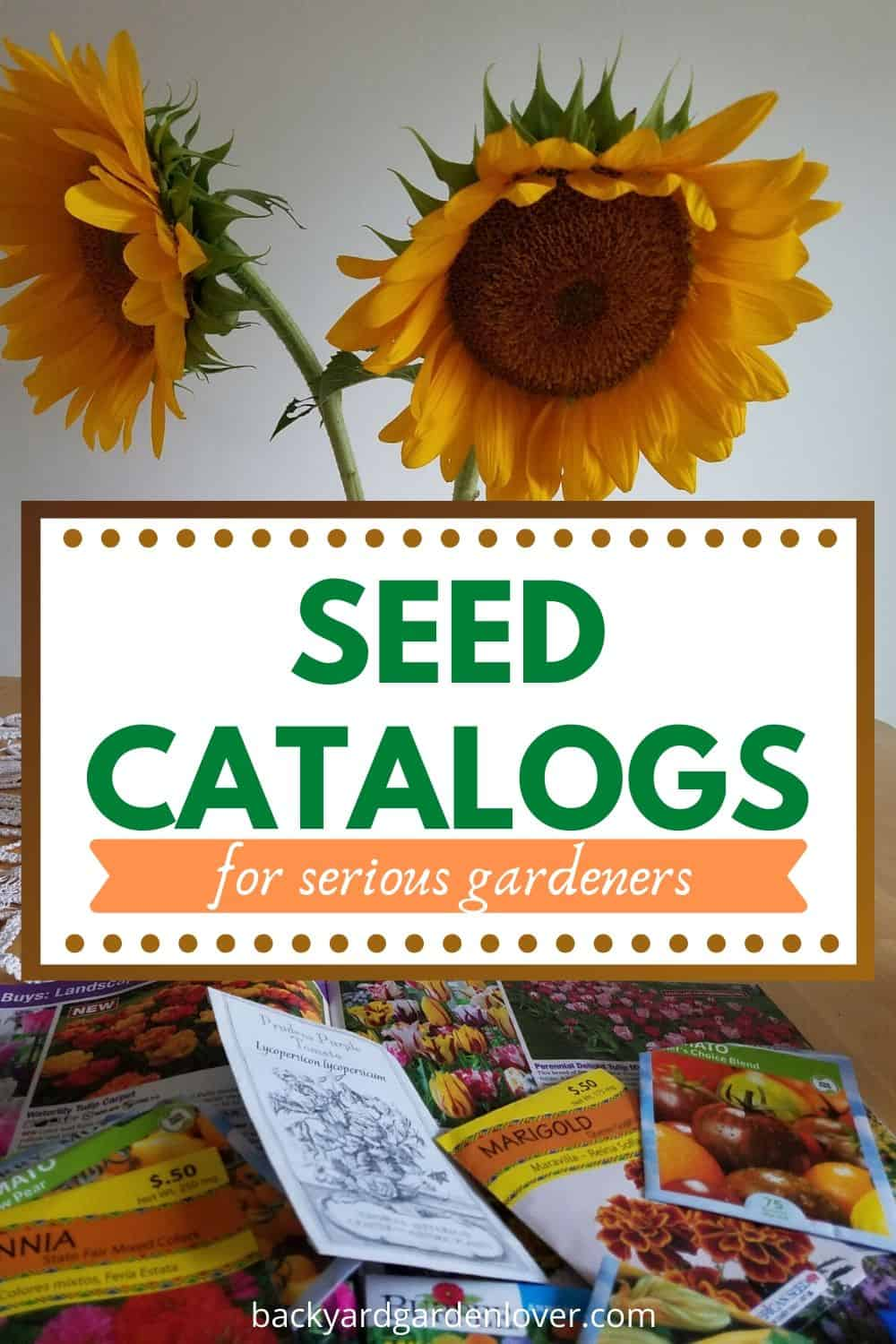 Seed catalogs for serious gardeners