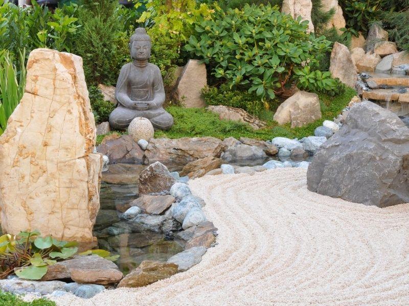 Sandy Japanese Garden