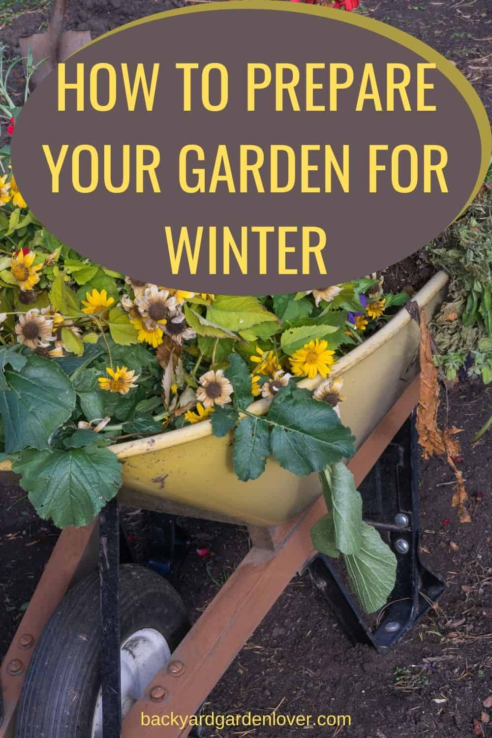 How to prepare your garden for winter - Pinteress image