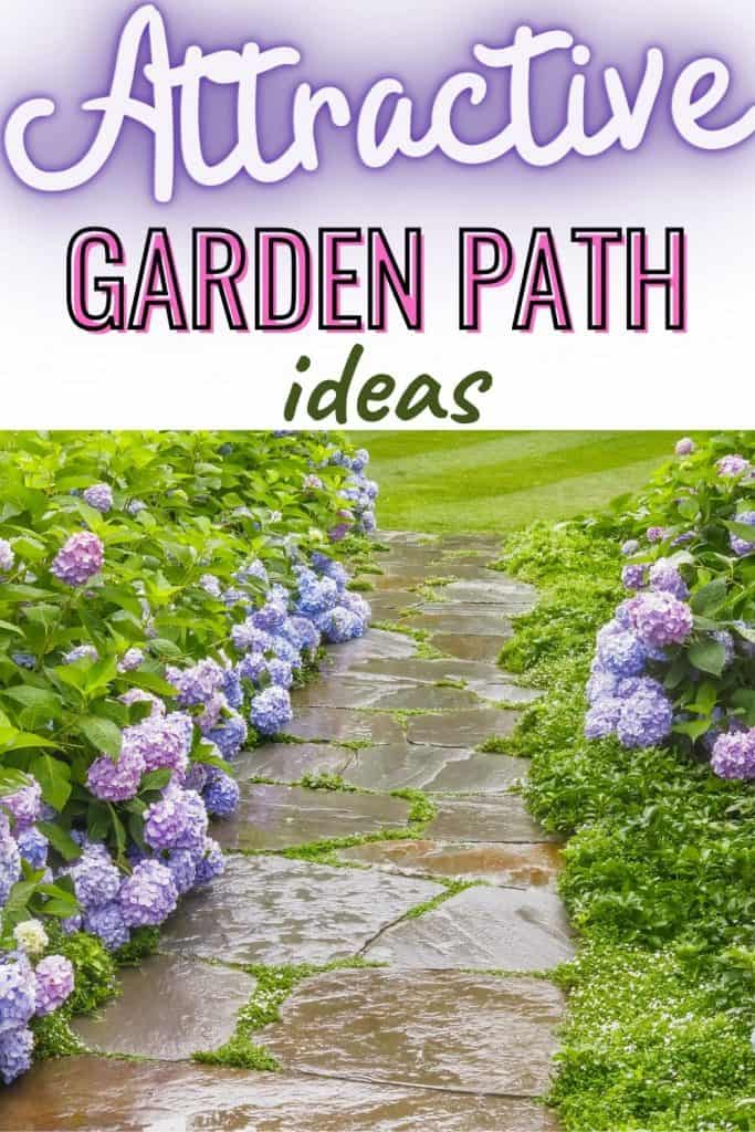 Attractive garden path ideas