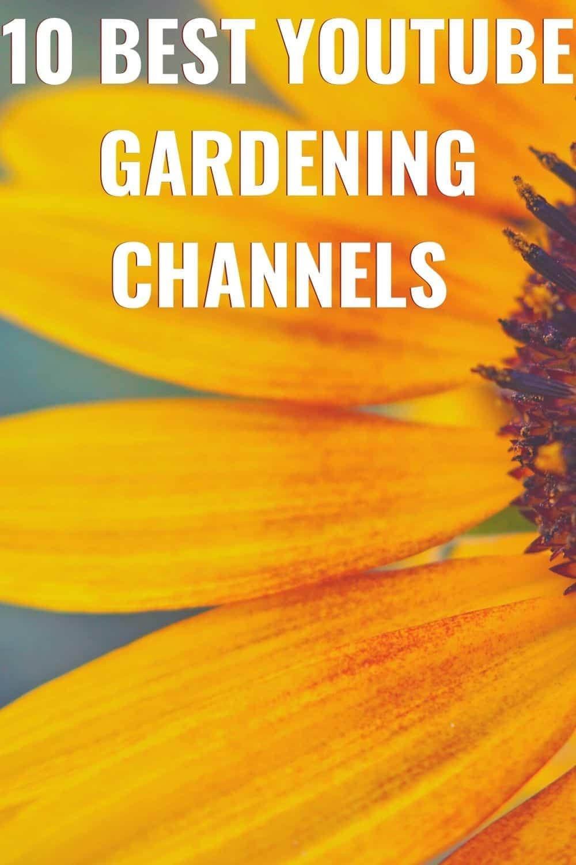 Best YouTube gardening channels