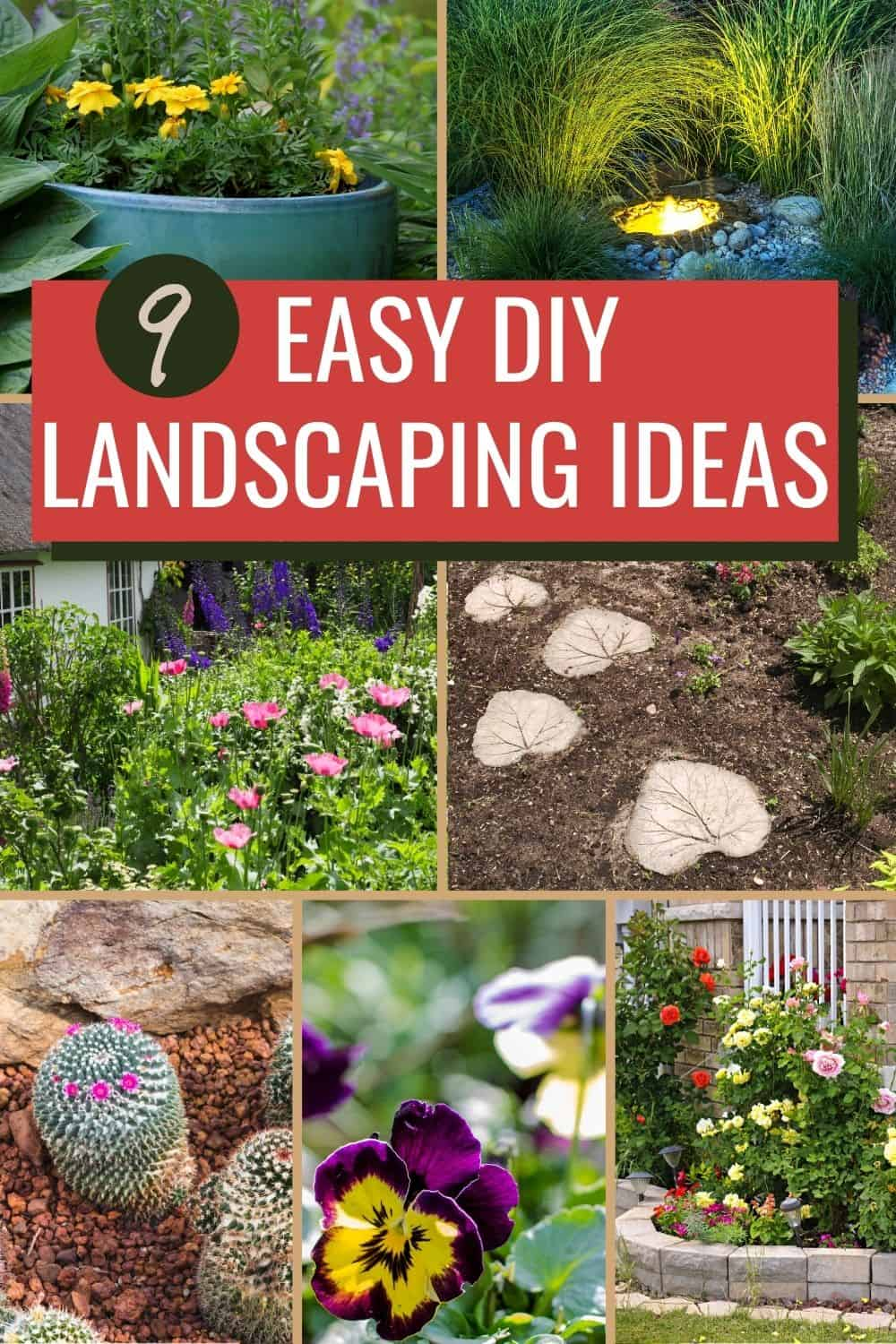 9 easy DIY landscaping ideas