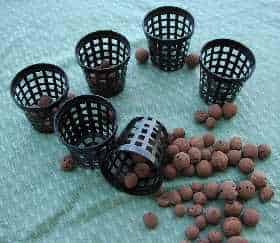 Net pots and LECA balls