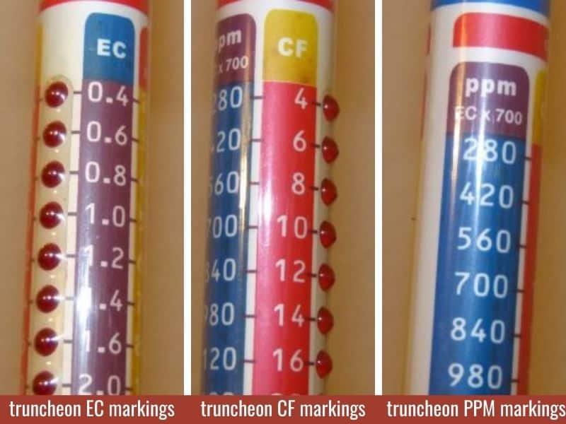 truncheon meter scales