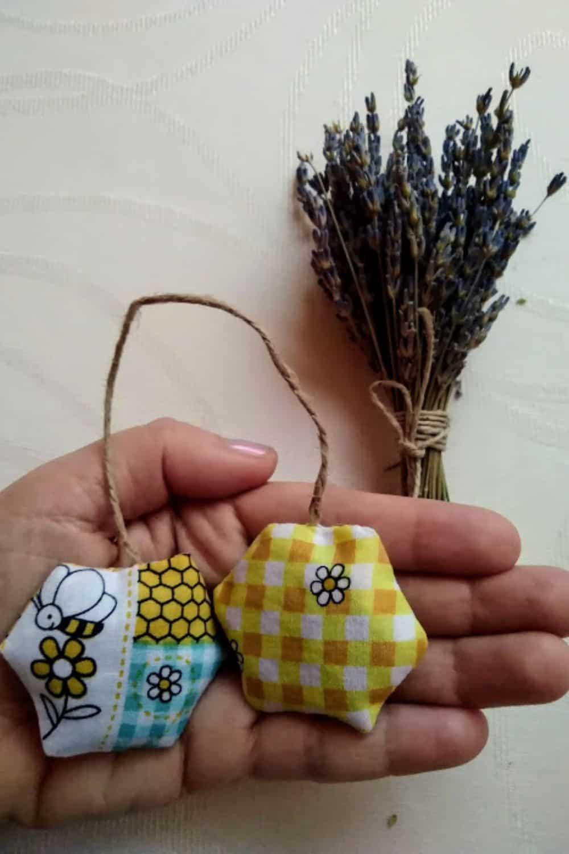 bee inspired sachets