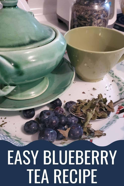 Easy blueberry tea recipe